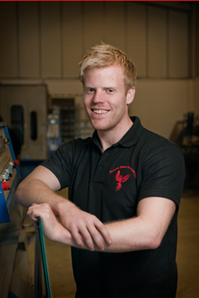 Damien Jones, Glass & Glazing Technician